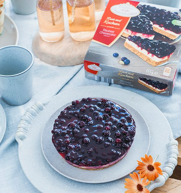 Blaubeer-Cheesecake im Sommerlook! 5