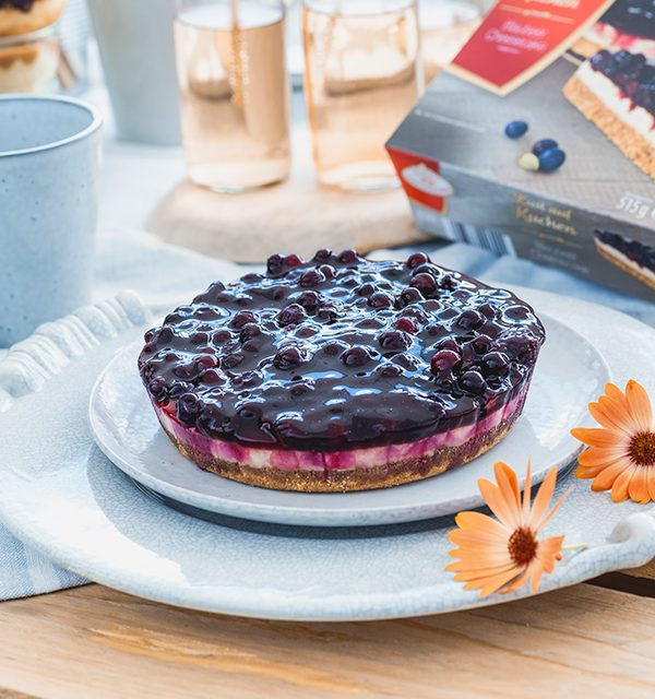 Blaubeer-Cheesecake im Sommerlook! 6