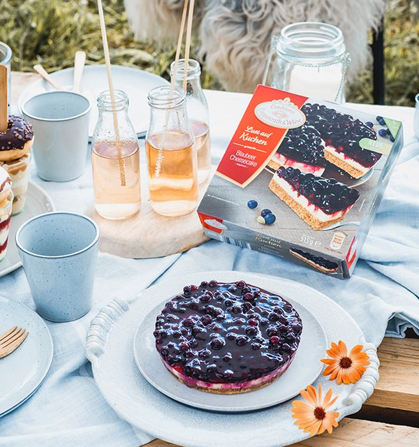 Blaubeer-Cheesecake im Sommerlook! 7