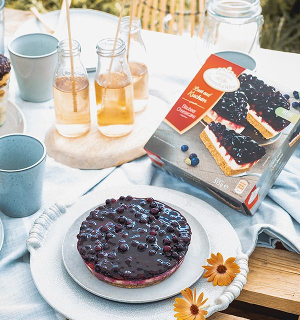 Blaubeer-Cheesecake im Sommerlook! 8