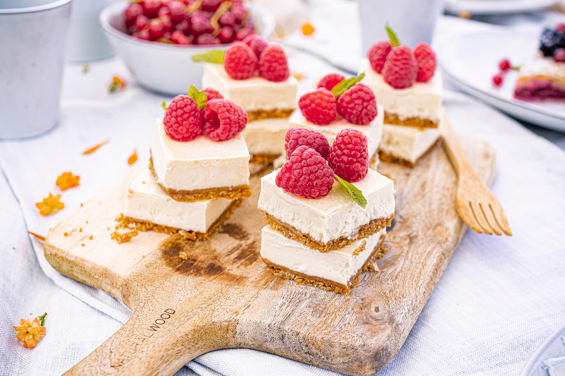Cheesecake-Häppchen to go - perfekt auch für's Picknick! 1