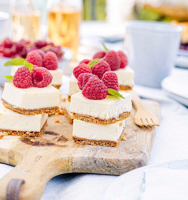 Cheesecake-Häppchen to go - perfekt auch für's Picknick! 3