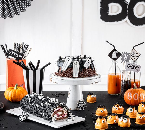 Bo(ooo)mbastische Halloween Snack-Ideen für den Sweet Table 1
