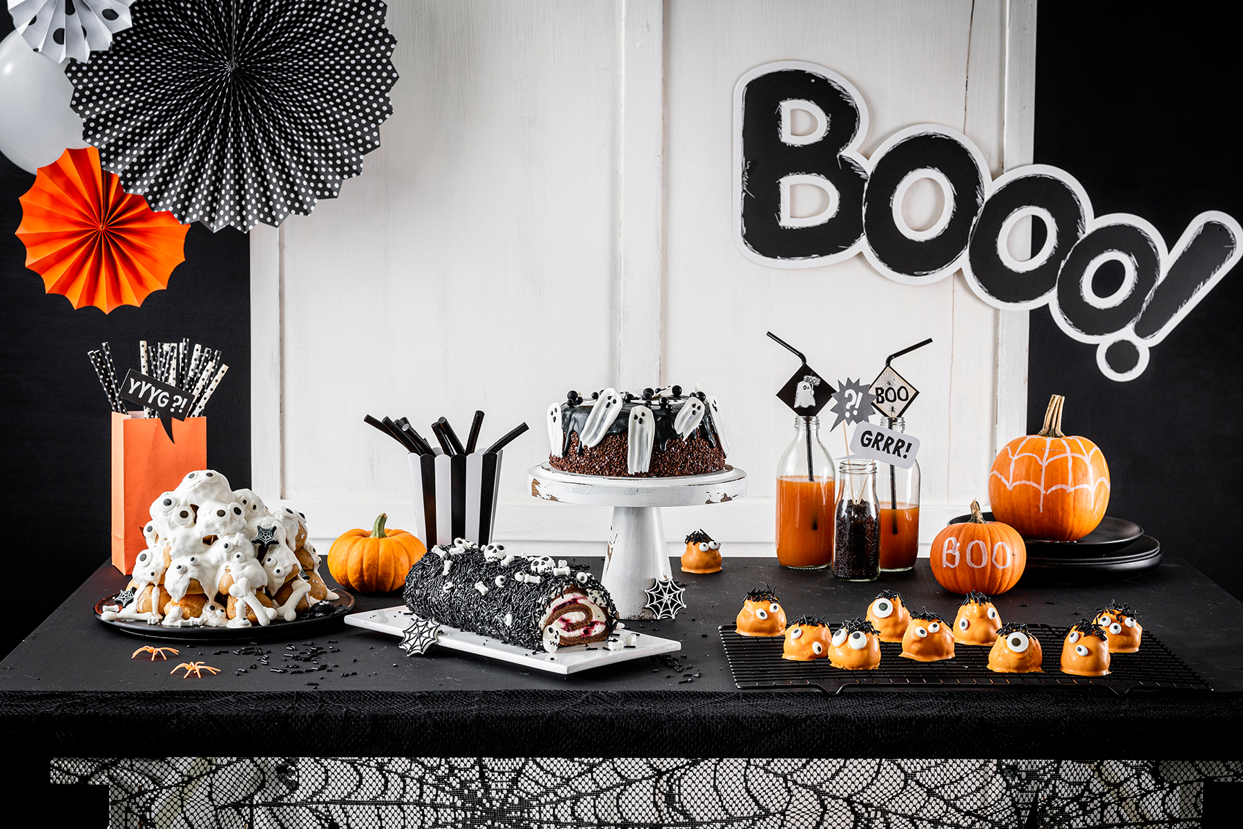 Bo(oo)mbastische Halloween Snack-Ideen für den Sweet Table