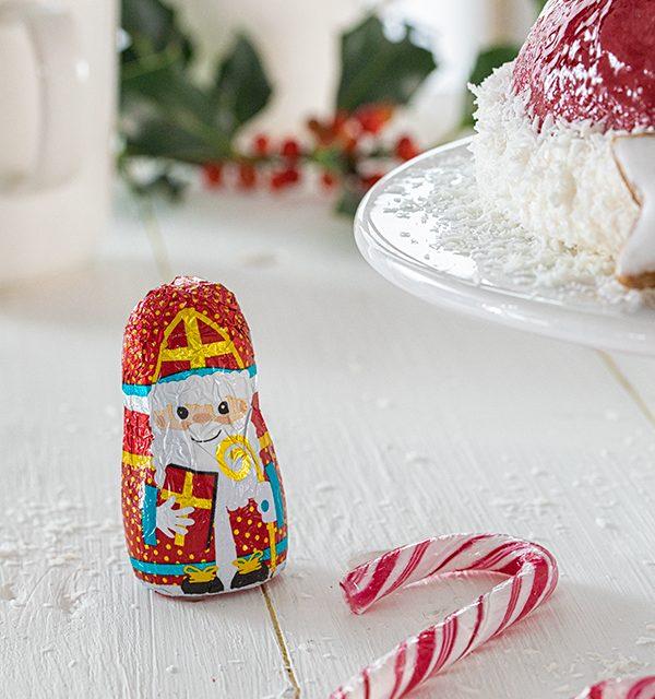 Nikolausmütze als Weihnachtstorte 9