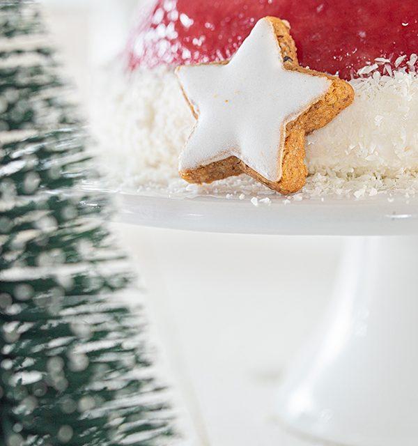 Nikolausmütze als Weihnachtstorte 13