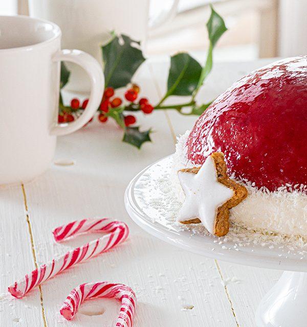 Nikolausmütze als Weihnachtstorte 4
