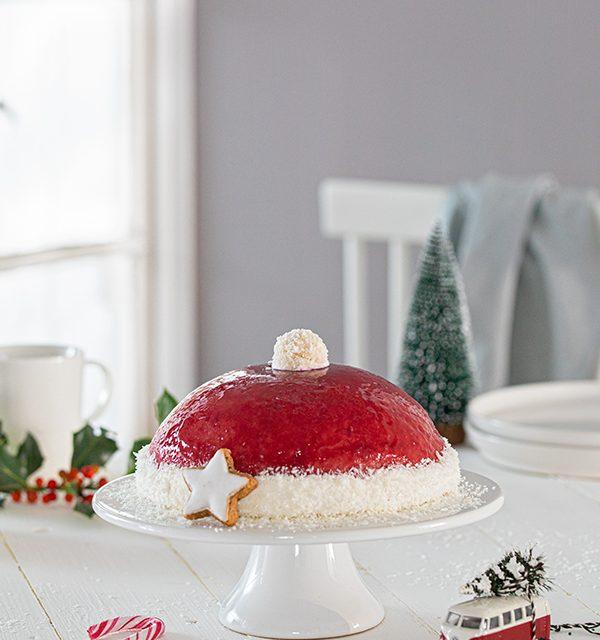 Nikolausmütze als Weihnachtstorte 5