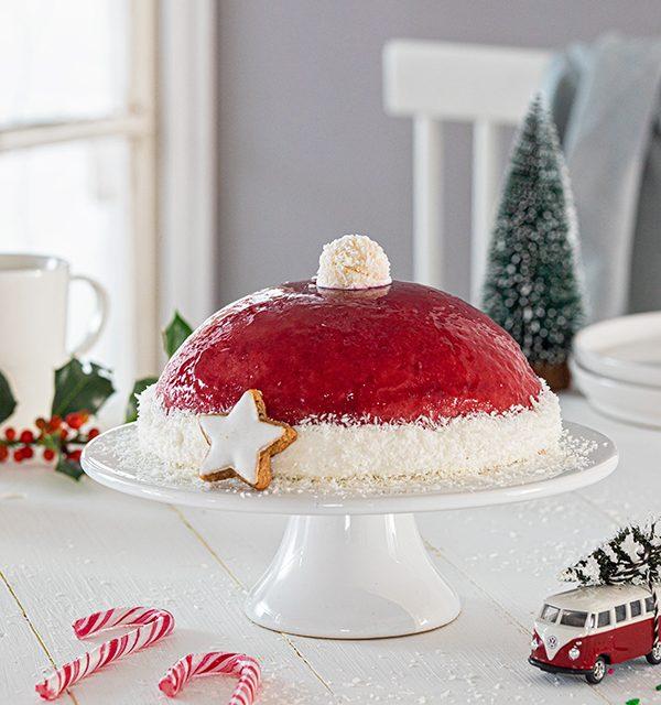 Nikolausmütze als Weihnachtstorte 7