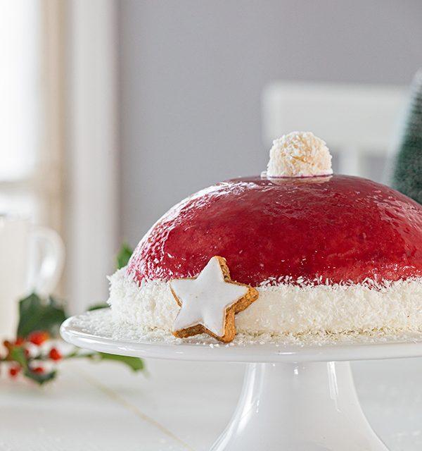 Nikolausmütze als Weihnachtstorte 8