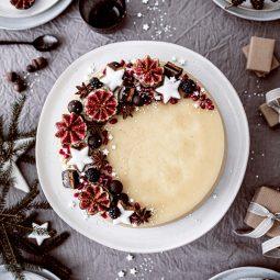 Weihnachtliche Windbeutel-Kirsch-Torte 29
