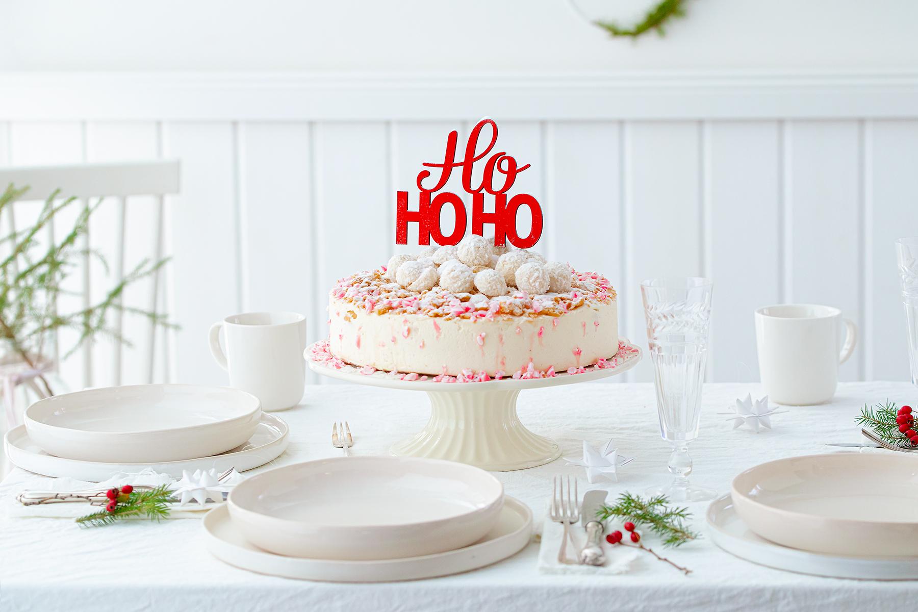 Weihnachtliche Windbeutel-Kirsch-Torte 30
