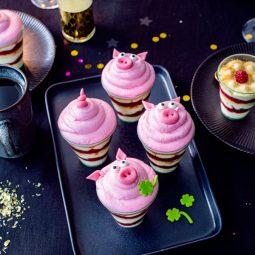 Glücksschwein-Desserts-perfekt für Silvester!