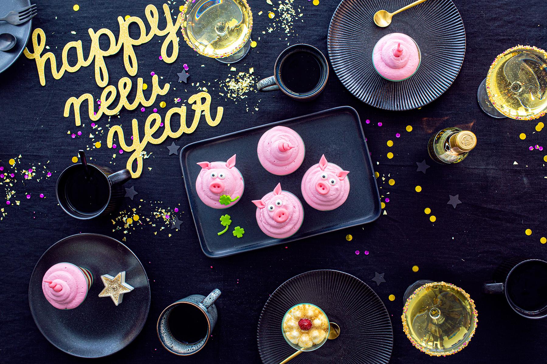 Glücksschwein-Desserts-perfekt für Silvester! 2