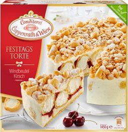 Weihnachtliche Windbeutel-Kirsch-Torte 32