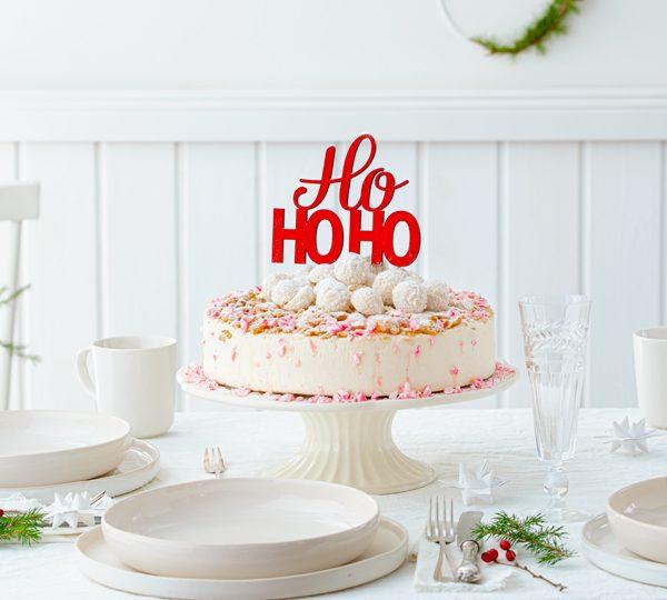 Weihnachtliche Windbeutel-Kirsch-Torte 36