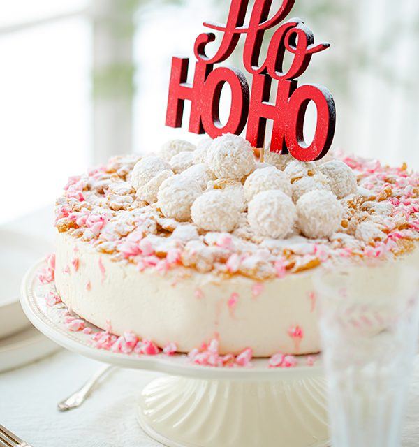 Weihnachtliche Windbeutel-Kirsch-Torte 38