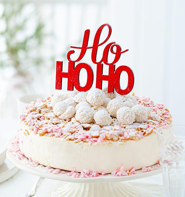 Weihnachtliche Windbeutel-Kirsch-Torte 47