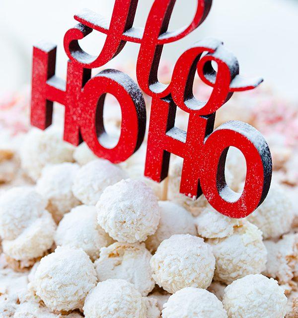 Weihnachtliche Windbeutel-Kirsch-Torte 49