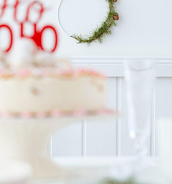 Weihnachtliche Windbeutel-Kirsch-Torte 56