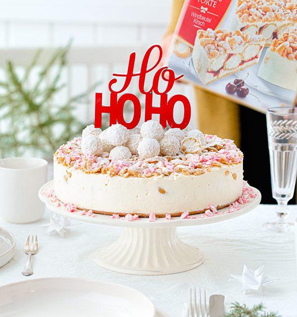 Weihnachtliche Windbeutel-Kirsch-Torte 65