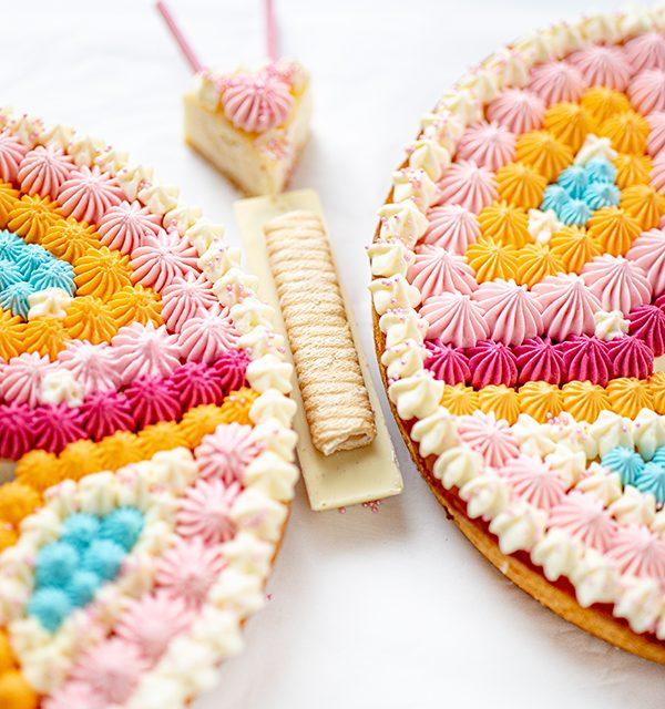 Schmetterlingskuchen zum Kindergeburtstag 9