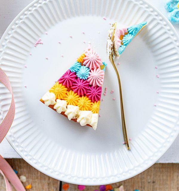 Schmetterlingskuchen zum Kindergeburtstag 17