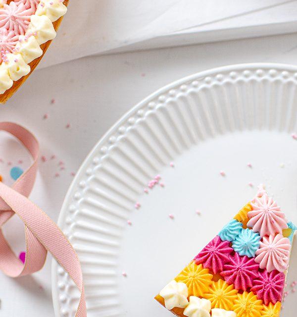 Schmetterlingskuchen zum Kindergeburtstag 20
