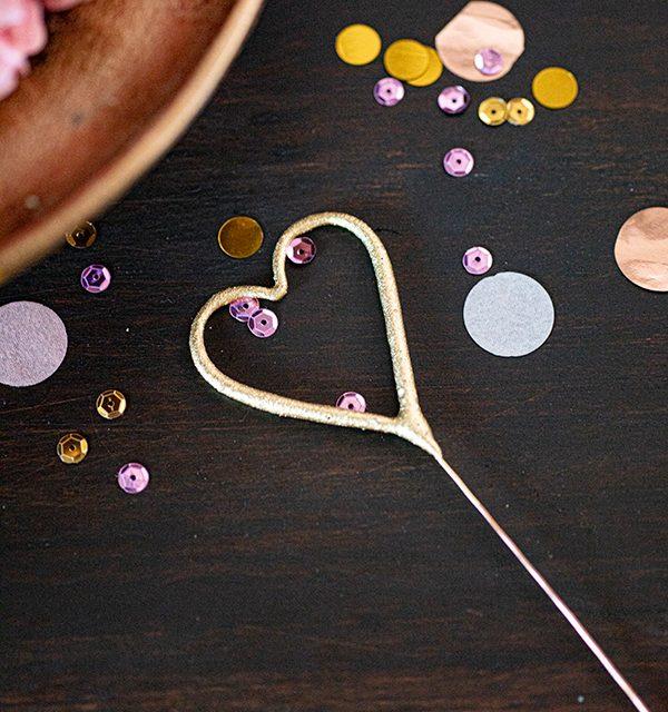 Torte zum 18. Geburtstag: Schokoladentorte mit Wunderkerzen 28