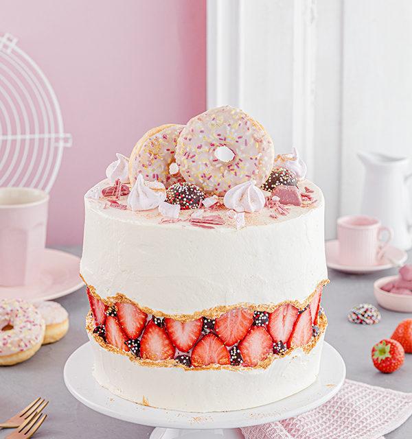 Faltline Cake Anleitung! So einfach wird's gemacht! 9