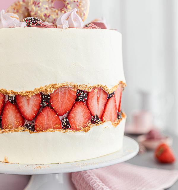 Faltline Cake Anleitung! So einfach wird's gemacht! 18