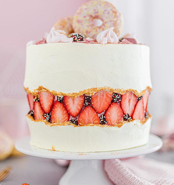 Faltline Cake Anleitung! So einfach wird's gemacht! 21