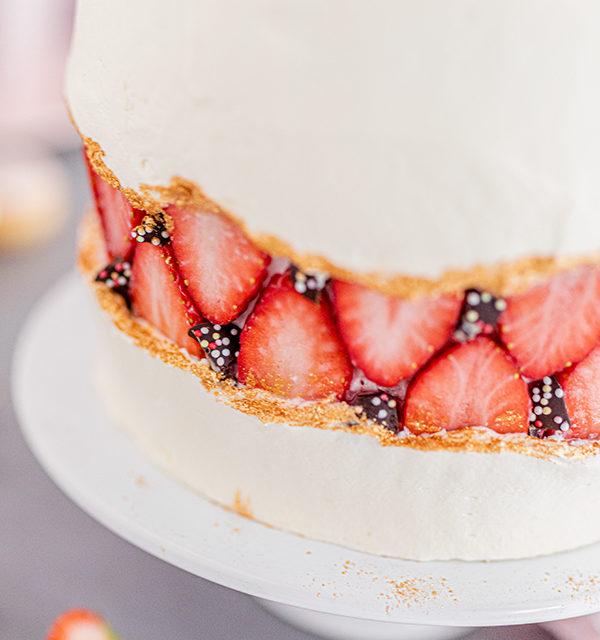 Faltline Cake Anleitung! So einfach wird's gemacht! 27