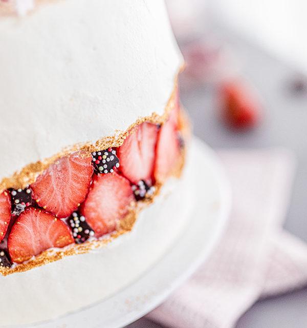 Faltline Cake Anleitung! So einfach wird's gemacht! 28