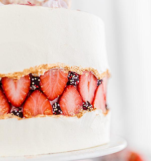 Faltline Cake Anleitung! So einfach wird's gemacht! 29
