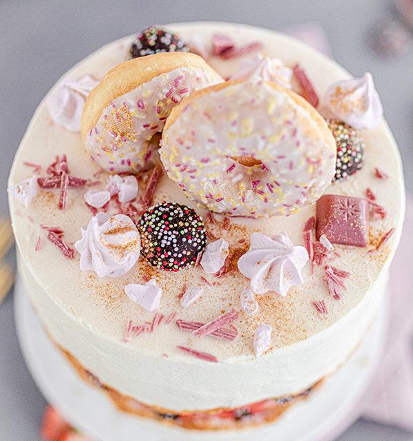 Faltline Cake Anleitung! So einfach wird's gemacht! 37