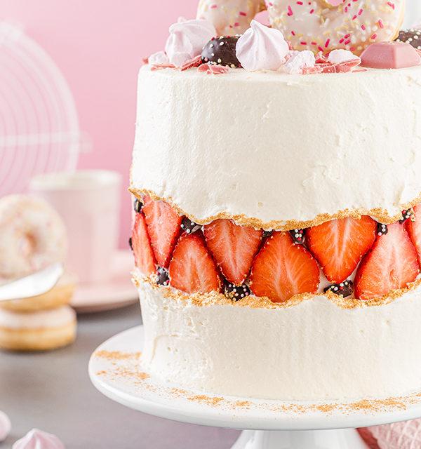 Faltline Cake Anleitung! So einfach wird's gemacht! 40