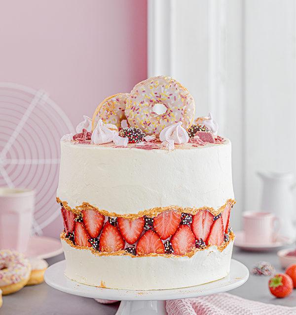 Faltline Cake Anleitung! So einfach wird's gemacht! 6