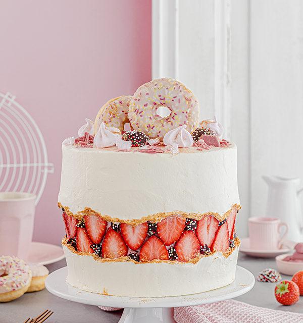 Faltline Cake Anleitung! So einfach wird's gemacht! 8