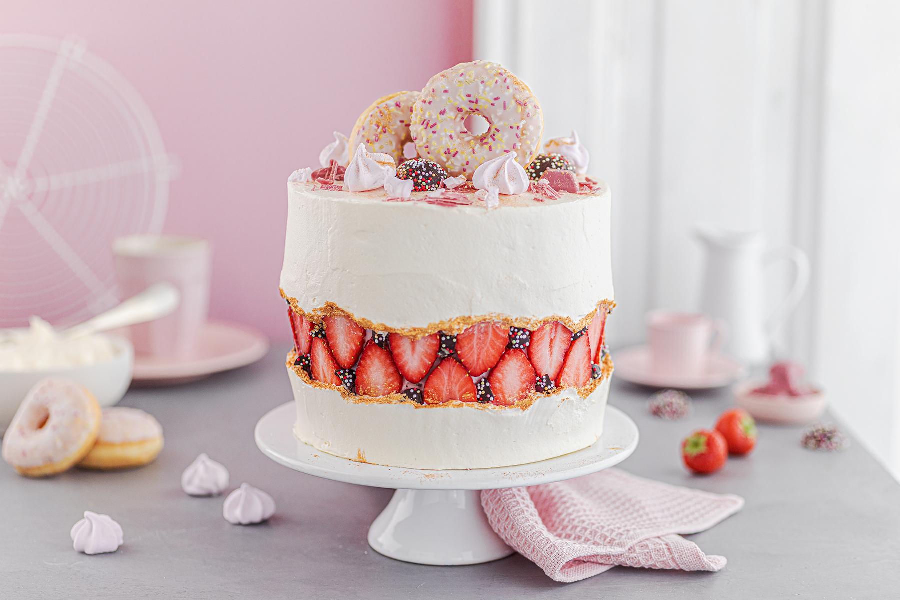 Faltline Cake Anleitung! So einfach wird's gemacht!