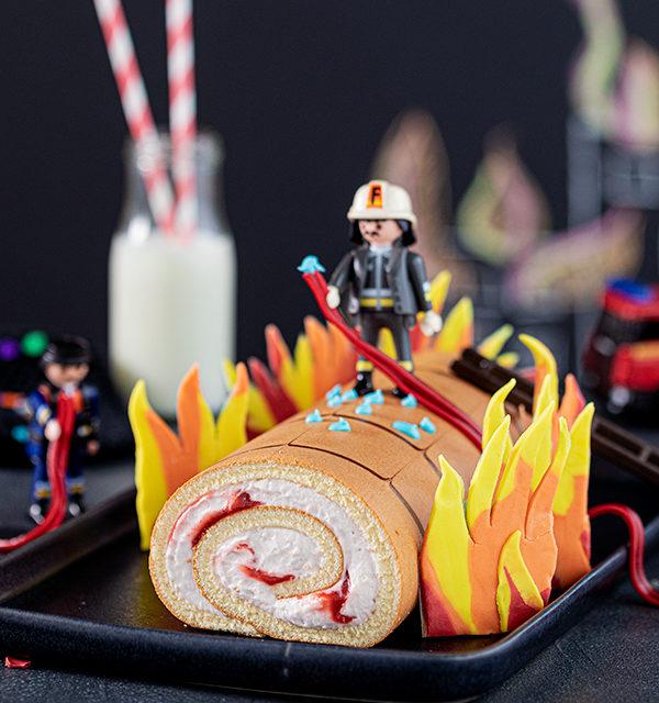 Feuerwehr-Kuchen zum Kindergeburtstag! 12