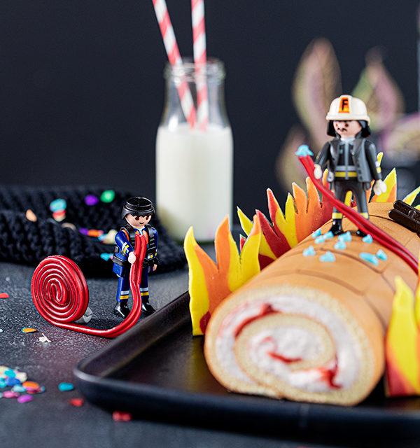 Feuerwehr-Kuchen zum Kindergeburtstag! 13