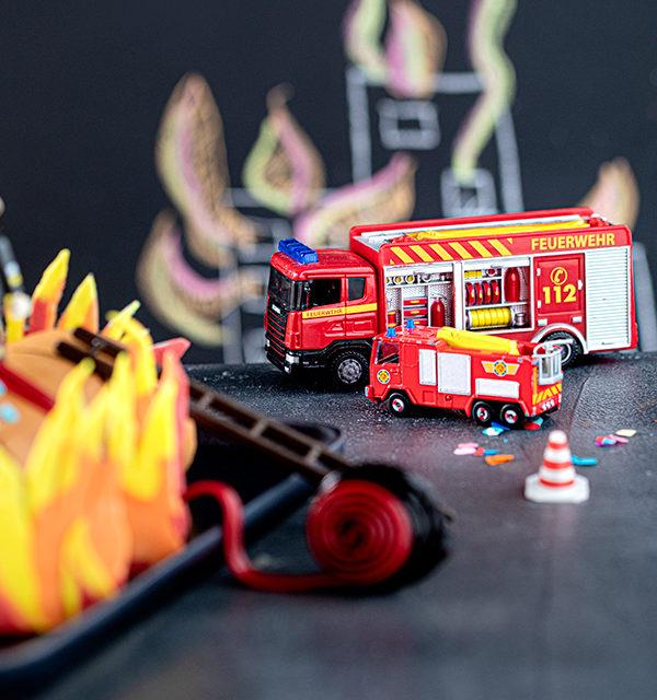 Feuerwehr-Kuchen zum Kindergeburtstag! 14
