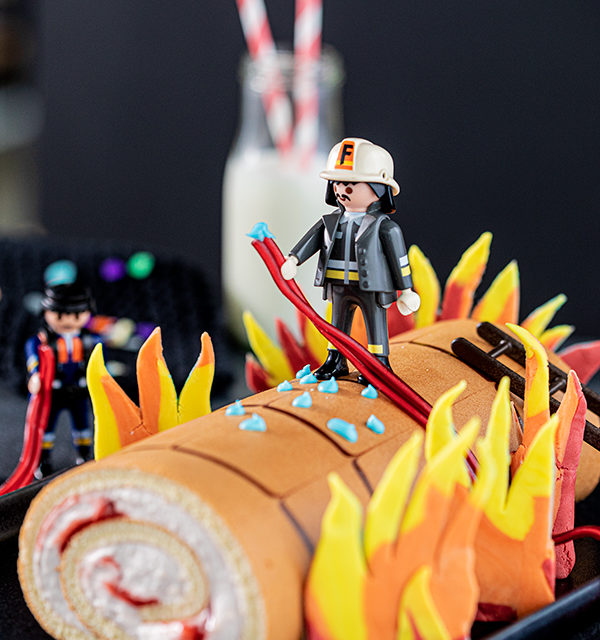 Feuerwehr-Kuchen zum Kindergeburtstag! 15