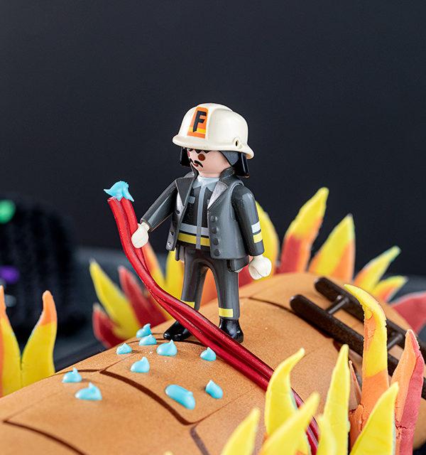 Feuerwehr-Kuchen zum Kindergeburtstag! 19