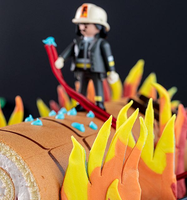 Feuerwehr-Kuchen zum Kindergeburtstag! 20