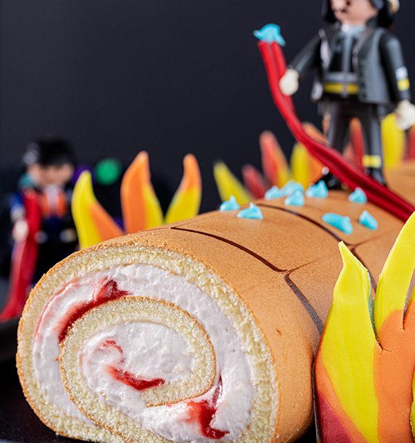 Feuerwehr-Kuchen zum Kindergeburtstag! 21