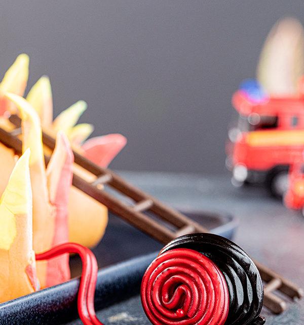 Feuerwehr-Kuchen zum Kindergeburtstag! 23