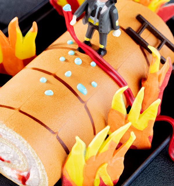 Feuerwehr-Kuchen zum Kindergeburtstag! 24