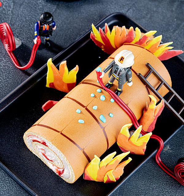 Feuerwehr-Kuchen zum Kindergeburtstag! 25